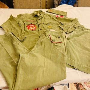 Vintage 1966 Cub Scouts of America Green Official
